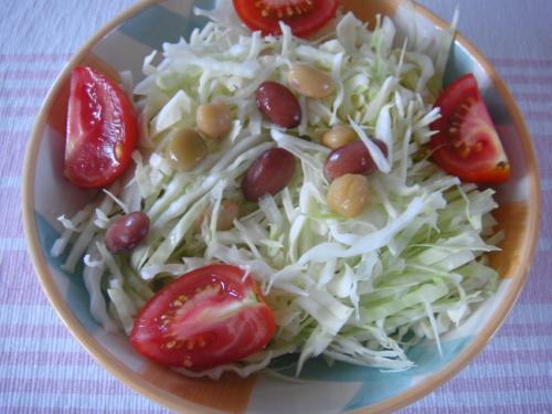 トマト豆サラダ