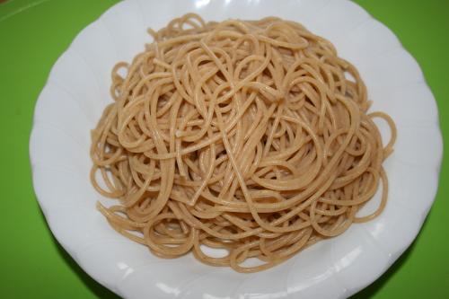 全粒粉パスタ麺