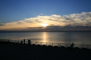 高洲海浜公園海岸線